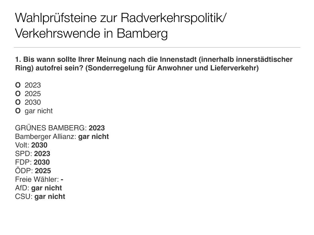 Wahlprüfsteine zur Bamberger Stadtratswahl am 15. März 2020 S. 3