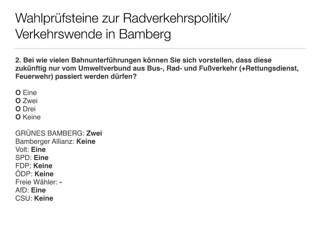 Wahlprüfsteine zur Bamberger Stadtratswahl am 15. März 2020 S. 4