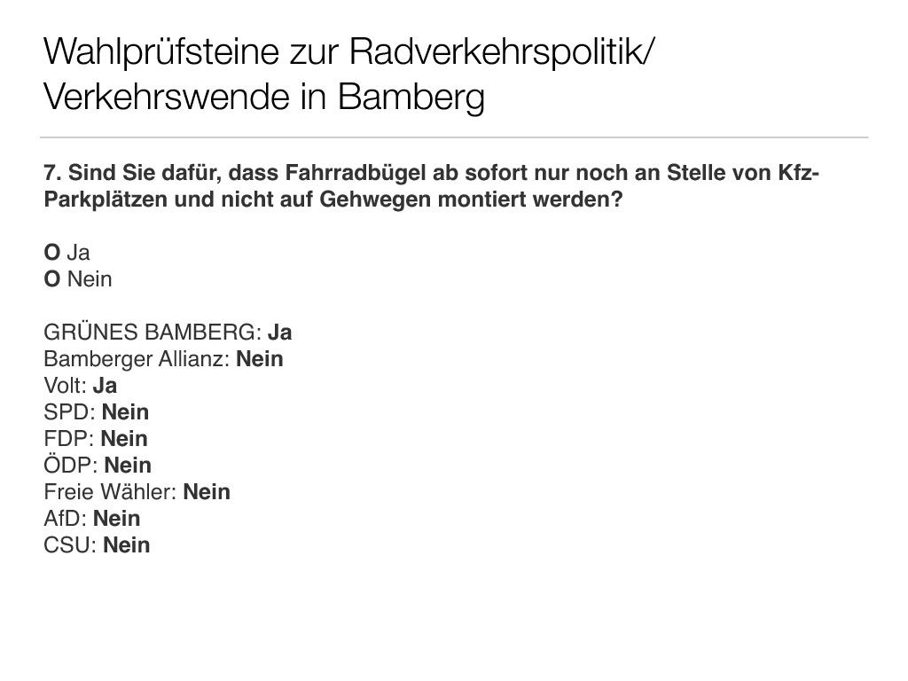 Wahlprüfsteine zur Bamberger Stadtratswahl am 15. März 2020 S. 9